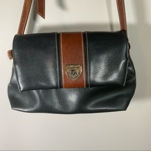 Vintage 90s Carryland Purse Black/Brown